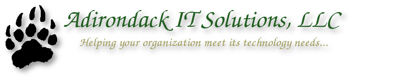 Adirondack IT Solutions, LLC